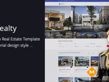 Lux Realty 地产置业 html模板 HTML5, CSS3,Bootstrap